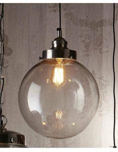 Pendant - Celeste Glass Pendant Light Medium