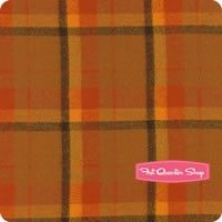 Primo Plaids Flannel Pumpkin Large Tartan Yardage <br/>SKU