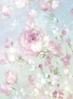 Fleurs De Printemps III - Debi Coules Romantic Art