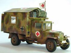 TRACK-LINK / Gallery / Zis 5  captured -  Krankenwagen