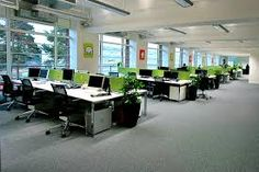 Image result for simple office desks for open offices