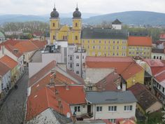 Trenčin as seen from the castle