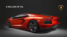 Lamborghini Aventador a convergence of design and technology.