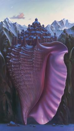 Vladimir Kush ~ Above the Sea Level