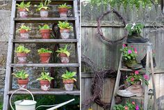 Repurposed ladders live long and lengthy lateral lives!