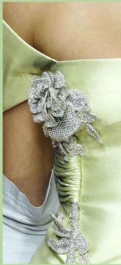 Pistachio Color, Peridot, Crochet Necklace, Envy, Sage, Jewelry, Fashion, Moda, Jewlery