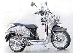 Motor Matic Honda Scoopy Modifikasi