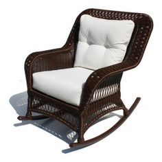 Princeton Wicker Rocker Sold By Wicker Paradise. I Want It In Black!