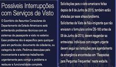 Emissão de visto americano está suspensa no mundo todo #notícias #viagens #vistoamericano