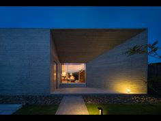 House of Amami Oshima is a minimalist house located in Kagoshima, Japan, designed by Matsuyama Architects