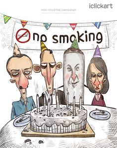 #smoking #party #nonsmoking #health #campaign #image #illust #iclickart #npine #흡연 #금연 #파티 #건강 #캠페인 #이미지 #일러스트 #아이클릭아트 #엔파인