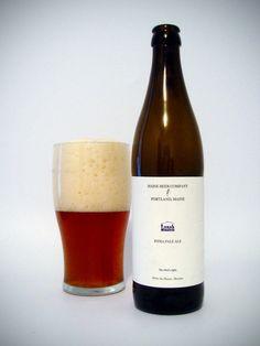 Cerveja Lunch, estilo India Pale Ale (IPA), produzida por Maine Beer, Estados Unidos. 7% ABV de álcool.