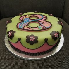 Eight Year Old Birthday Cake Party Ideas Pinterest Kaseys - Birthday cake 8 year old