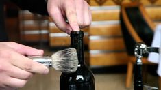 The Coolest Way To Open A Bottle Of #Wine. #Somm #Sommelier #Sumiller