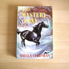 The Mystery Pony by Sheila Chapman 1960  by TwoTimeVintage on Etsy, £10.00
