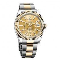 Rolex Oyster Perpetual Sky-Dweller Dual Time Zone Automatico Reloj 326933