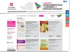 Consejo Latinoamericano de Ciencias Sociales (CLACSO): 824 libros en español en acceso aberto do catálogo editorial de CLACSO