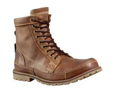 I have a pair of these, quite comfortable.  You can dress them up and dress them down easily!  Timberland Earthkeepers Original Leather 6-Inch Boot