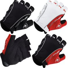 CASTE Bike Bicycle Fingerless Cycling Gloves for Racing  Motorcycle Mountain Sports in 2 Colors 3 Sizes M/L/XL send in 5 days