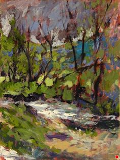 by the battenkill river by cynthia rosen  ~  x