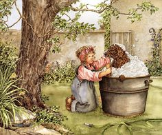 Art Painting - Childhood  17 - Catherine Simpson ~ Tough Love, De.jpg