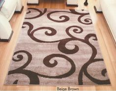 Budget Frieze Swirl Rug, £44.99 Free Delivery