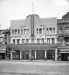 Wellington New Zealand, New Zealand Landscape, British Isles, Will Smith, Old Photos, Theatre, Buildings, Scenery, Art Deco