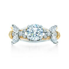 Tiffany & Co. Schlumberger® Two Bees Ring Engagement Rings   Tiffany & Co.