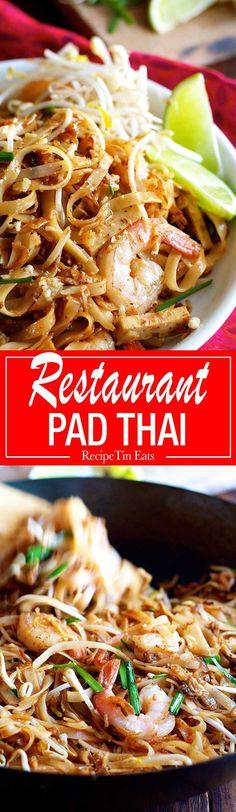 Finally! A Pad Thai recipe that ACTUALLY tastes like what you get at restaurants! Sooooo good, everyone scoffed this down!