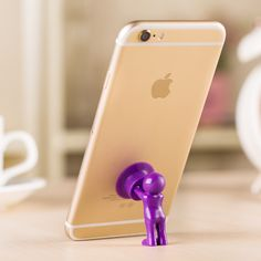 Pushingbest Universal Cute 3D Man Hercules Phone Holder, Villain Stand Supporter For IPhone For Samsung Xiaomi Huawei oppo
