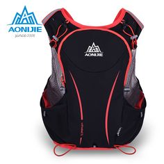 Cheap sport bag, Buy Quality bag waterproof directly from China bag sports bags Suppliers: AONIJIE Men Women Upgraded Outdoor Running Bag Backpacks Marathon Reflective Hiking Cycling Backpack Hydration Vest Pack Cycling Backpack, Backpack Bags, Cycling Vest, Backpack Camping, Travel Backpack, Sierra Leone, Uganda, Nylons, Georgia