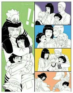 Read uno from the story IMÁGENES NARUHINA by jeniffersolis (Hinata solis with reads. Anime Naruto, Sarada E Boruto, Naruto Comic, Naruto Sasuke Sakura, Naruto Cute, Naruto Shippuden Sasuke, Haikyuu Anime, Hinata Hyuga, Familia Uzumaki