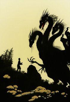 Three-Headed Dragon by Niroot Puttapipat