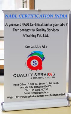 Are you looking for NABL Certifications India? Then contact to Quality Services & Training Pvt. Ltd.   For more information, kindly contact us: Phone: 91-9215300338 Email id: info@qsindia.in  Website: http://www.qsindia.in/nabl-certificationindia    S.C.O. 37, sector-1, jail land, Ambala city – 134 003 Haryana Twitter: https://twitter.com/qualityservic11 Facebook: https://www.facebook.com/isocompanyindia?ref=hl