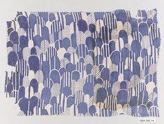 Textile sample  Manufacturer:Wiener Werkstätte Designer:Unknown Designer Date:1910–28 Medium:Silk Dimensions:H. 7-3/4, W. 11 inches (19.7 x 27.9 cm.) Classification:Textiles-Printed