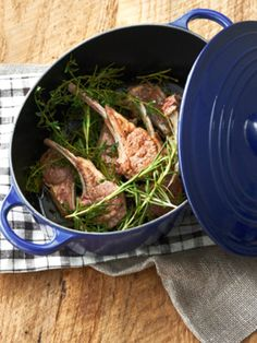 Lamb chop grilled with herbs Home Recipes, Asian Recipes, Gourmet Recipes, Japanese House, Japanese Food, Staub Recipe, Cook Pad, Grilled Lamb Chops, Slow Cooker