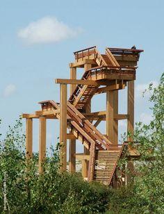 Glulam.org, Portail du bois lamellé - Infrastructures et équipements extérieurs -