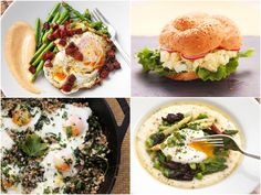 Recipes Dinner Eggs Unwrapping presents may be the capital accident on Christmas morning. But a adorable brunch—best enjoyed in PJs—also brings brawl to the morning. Egg Recipes, Diet Recipes, Cooking Recipes, Easy Eat, Post Workout Food, Serious Eats, Healthy Baking, Healthy Dinner Recipes, Food Videos
