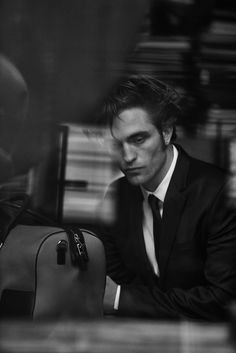 Peter Lindbergh | Dior Magazine - Robert Pattinson