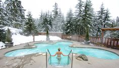 Hydrotherapy At Its Finest- Scandinave Spa Whistler, Canada  www.theroadlestraveled.com