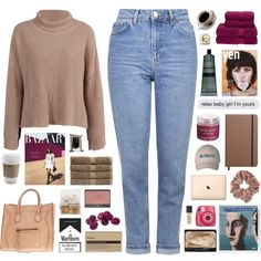 Hello / 20.46 by shaniaayr on Polyvore featuring Topshop, CÉLINE, NARS Cosmetics, Sara Happ, Korres, Aesop, Shinola, Christy and Fujifilm