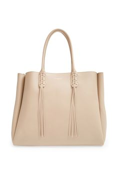 Lanvin Calfskin Leather Tote
