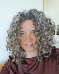 """Going grey with (grohm)(bray) on Instagram: """"""""After getting my first gray hairs at 16, I decided 1 year ago to go natural after dying my hair for years. At 35 I had mental health…"""" Dying My Hair, 1 Year Ago, Going Gray, Going Natural, I Decided, Dreadlocks, Mental Health, Grey, Hair Styles"""