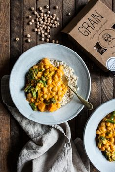 This pumpkin chickpea cashew curry is creamy, flavorful, and--best of all--so easy to prepare. Gluten free, vegan, and freezer-friendly!