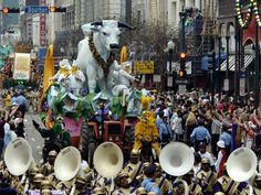 Mardi Gras Parade - The Boeuf Gas