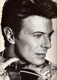 david bowie back in the day I loved him  he was so hot to me I'm weird.