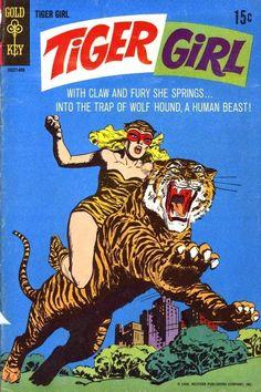Tiger Girl Comic