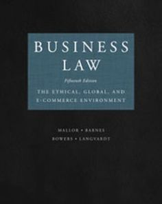 Test bank for introduction to business law 5th edition by beatty name business law the ethical global and e commerce environment author mallor edition fandeluxe Image collections