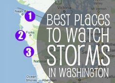 Best places to watch storms on the Washington Coast