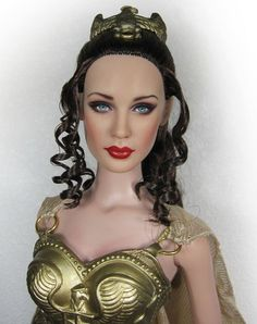 """Athena - OOAK 16"""" Tonner Tyler Lilah Dressed Doll Repaint by Yu"""